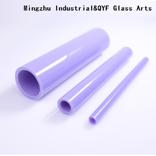 TY Color-Milky Violet Borosilicate Glass Tubing with COE33