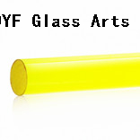 Colored Pyrex Glass Rods With COE33-Light Yellow