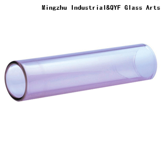 Purple Colored Borosilicate 3.3 Glass Tubing for Glass Arts&crafts
