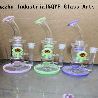 QYF09200---Pyrex Glass Bongs For Cannabis Smoking