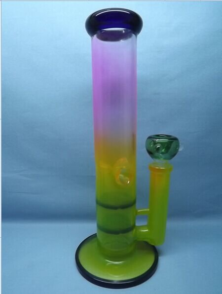 QYF2266-Honeycomb Percolated Borosilicate Glass Bongs