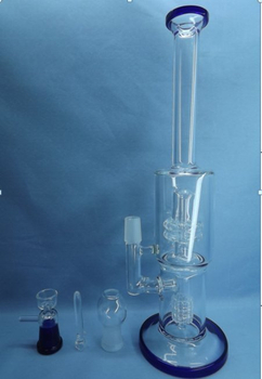 QYF2304-Pyrex Glass Bongs for Tobacco Smoking