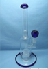 QYF2258-Pyrex Glass Smoking Water Pipes with Matrix Percolator