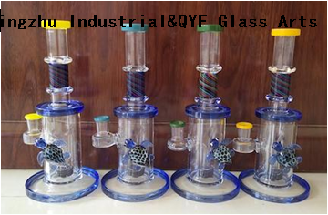 QYF17---Pyrex Bongs Made of US borosilicate 3.3 glass rods
