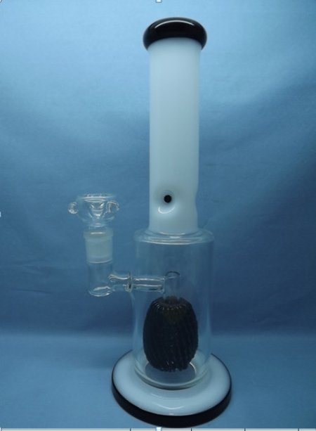QYF2317-Pyrex Glass Smoking Water Pipes for Cannabis
