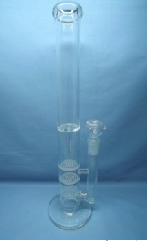 QYF2239-Tornado disc percolator glass water pipes