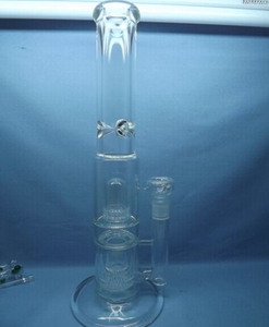 QYF2327-Percolator Glass Water Pipes for Cannabis