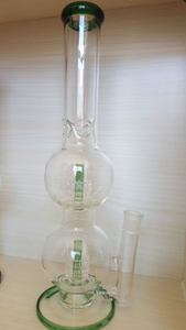 QYF2381--Double Matrix Glass Smoking Water Pipes